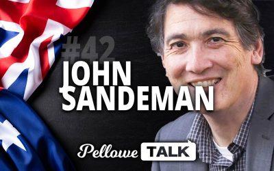 John Sandeman from Eternity News | Pellowe Talk Ep. 42