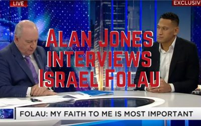The Israel Folau Interview with Alan Jones