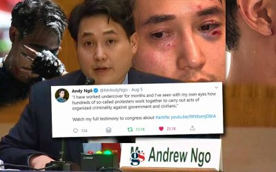 What Andy Ngô told Congress about Antifa