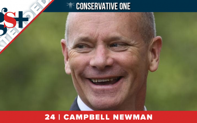 EXTENDED INTERVIEW   Conservative One with George Christensen   #24, Campbell Newman