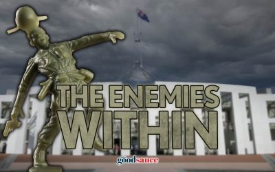 Enemies within, enemies without