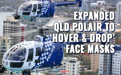 """Queensland Police add 3 new helicopters to """"keep us safe from Covidiots"""" over Easter long weekend"""
