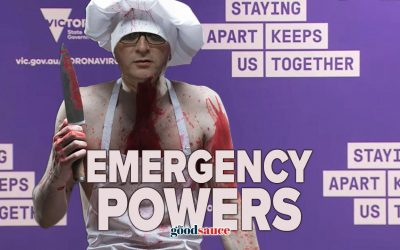 Politicians ARE the Emergency
