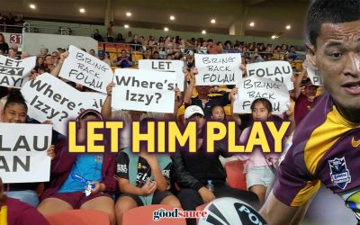 Why the NRL should let Izzy Folau play football
