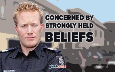 Victoria Police tells court they are concerned by strongly held beliefs