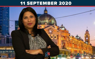 The Weekly Wrap Up with Karina Okotel | 11 September 2020
