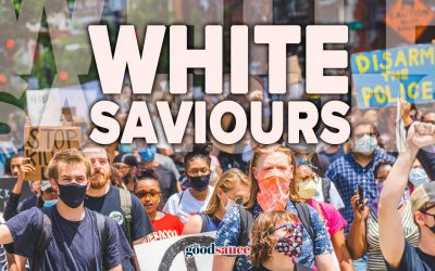 I want to be a white saviour!